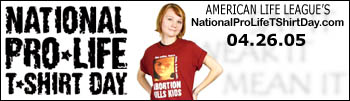 National Pro-Life T-Shirt Day