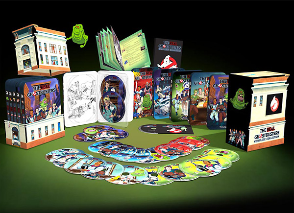 The Real Ghostbusters DVD Set Shipping November 25th!