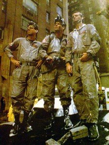 Ghostbusters: Egon Spengler, Raymond Stanz and Peter Venkman