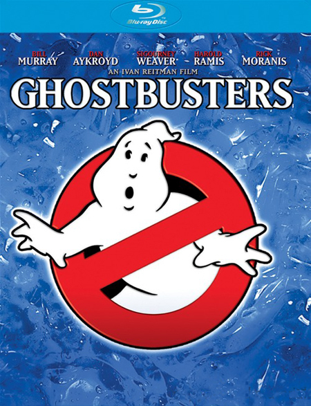 Ghostbusters Blu-ray Cover Art and Special Features