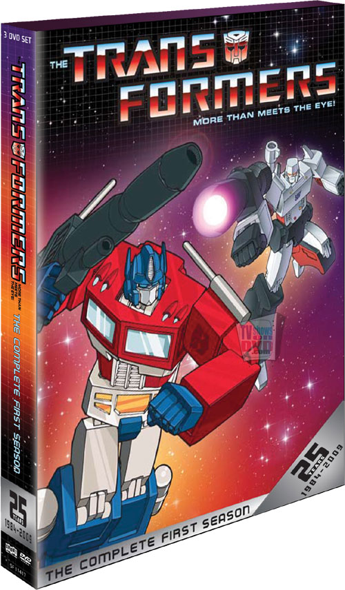 The Transformers - The Complete First Season: 25th Anniversary Edition