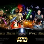 Star Wars Saga Poster