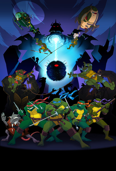 Turles Forever: A Teenage Mutant Ninja Turtles Team-Up Dream Come True