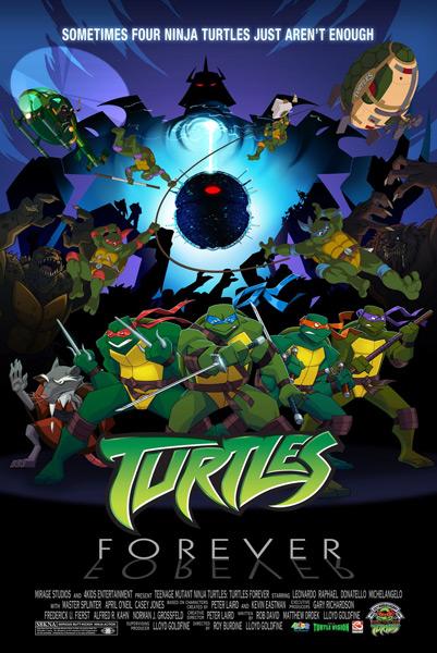 Turles Forever: A Teenage Mutant Ninja Turtles Team-Up Dream Come True