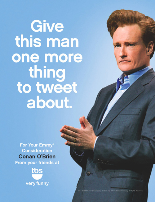 The Tonight Show with Conan O'Brien: Four Emmy Nominations