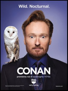 Conan O'Brien's New Show has a Title and a Logo