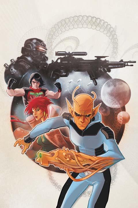 DC Comics 52 Title Reboot – Team Titles