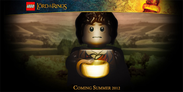 Lego The Lord of the Rings is coming! (Lego The Hobbit, too!)