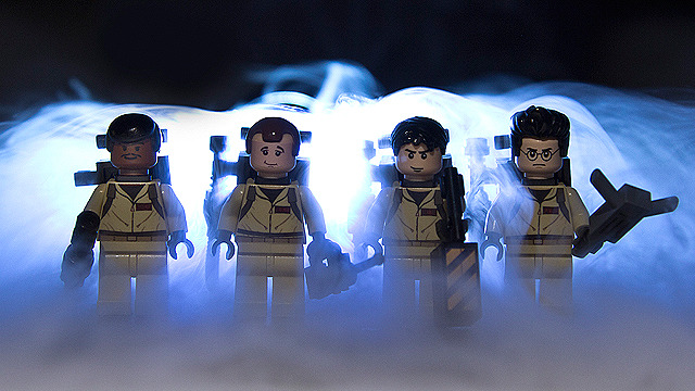 'Everything is Awesome' as Lego Movie directors might film 'Ghostbusters 3'