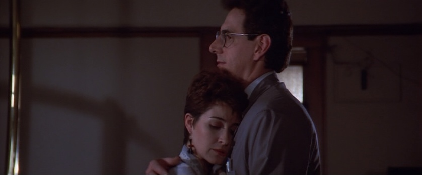 Egon and Janine in Ghostbusters