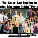 First Smart Set-Top Box to bring à la carte Cable TV wins