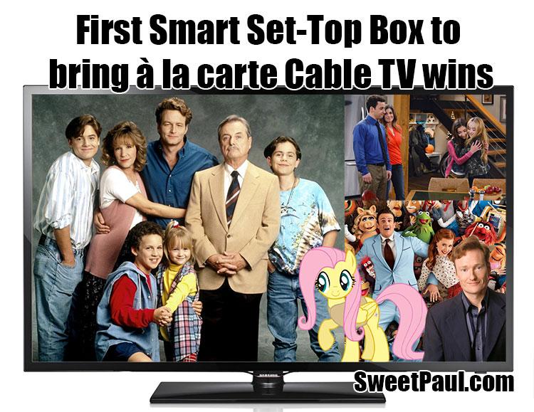 First Smart Set-Top Box to bring à la carte Cable TV wins