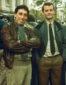 Ivan Reitman and Bill Murray