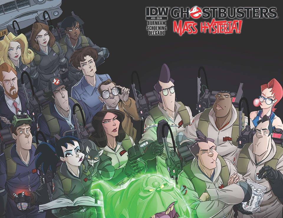 IDW's Ghostbusters On-going Comic Book Cancelled... sigh