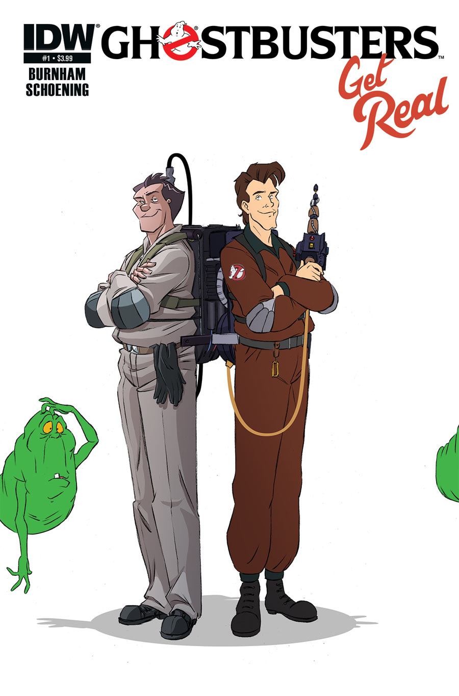 New Ghostbusters Comic Book Mini-series gets 'Real'