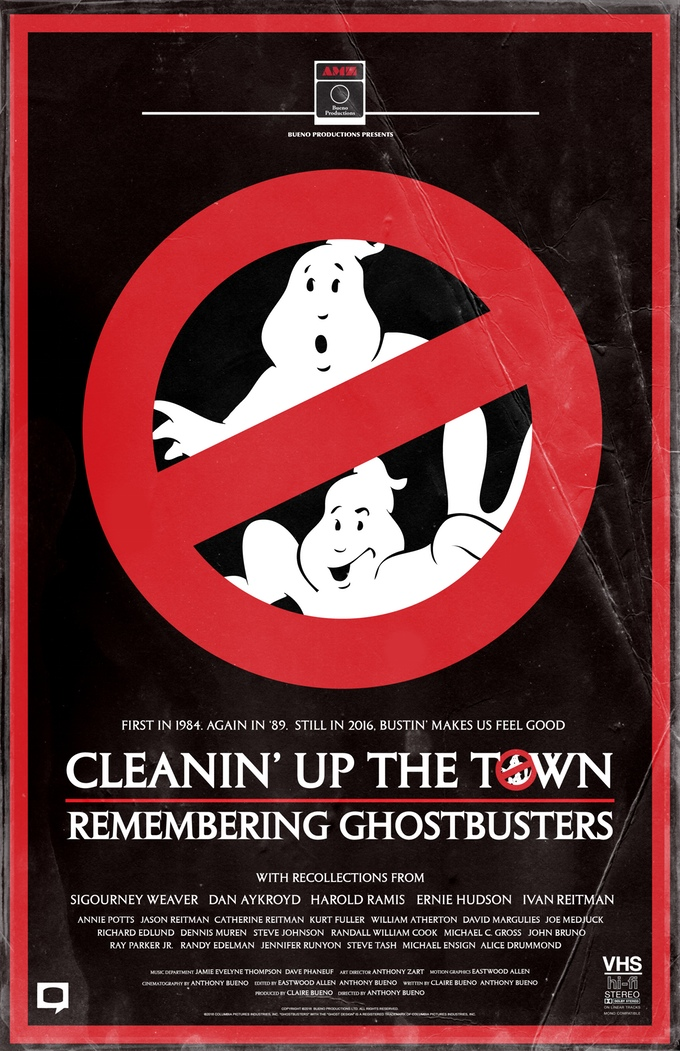Help Kickstart Documentary 'Cleanin' Up the Town: Remembering Ghostbusters'